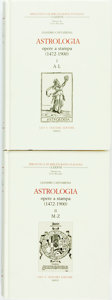Books:Reference & Bibliography, [Bibliography]. Leandro Cantamessa. Astrologia Opere a Stampa (1472-1900). Florence: Leo S. Olschki, 2007. Kro... (Total: 2 Items)