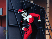 Batman: The Animated Series Harley Quinn Production Cel (Warner Brothers, c. 1993-94)