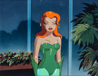 """Batman: The Animated Series """"House and Garden"""" Poison Ivy Production Cel (Warner Brothers, 1994)"""