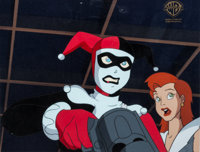 """Batman: The Animated Series """"Harley's Holiday"""" Harley Quinn Production Cel (Warner Brothers, 1994)"""