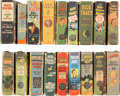 Big Little Book:Miscellaneous, Big Little Book Adventure Group (Whitman, 1938-49) Condition:Average GD+.... (Total: 18 Items)