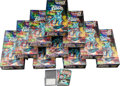 Memorabilia:Trading Cards, Silver Surfer Prism Trading Cards Unopened Wax Box Group (Comic Images, 1992).... (Total: 11 Items)