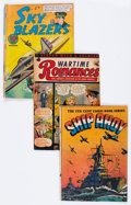 Golden Age (1938-1955):War, Comic Books - Assorted Golden Age War Comics Group (VariousPublishers, 1940s-'50s) Condition: Average GD.... (Total: 23 ComicBooks)