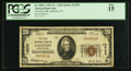 National Bank Notes:Pennsylvania, Gallitzin, PA - $20 1929 Ty. 1 The First NB Ch. # 13533. ...