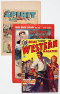 Platinum Age (1897-1937):Miscellaneous, Assorted Platinum Age Pulps, Comics, and More Box Lot (VariousPublishers, 1910s-'30s) Condition: Average GD....