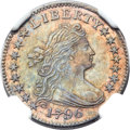 Early Dimes, 1796 10C JR-6, R.3, MS63 NGC....