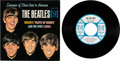 Music Memorabilia:Recordings, Beatles Souvenir Of Their Visit To America EP (Vee-Jay 903,1964)....