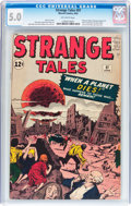 Silver Age (1956-1969):Horror, Strange Tales #97 (Marvel, 1962) CGC VG/FN 5.0 Off-white pages....