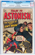 Silver Age (1956-1969):Superhero, Tales to Astonish #35 (Marvel, 1962) CGC GD+ 2.5 Off-whitepages....