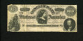 Confederate Notes:1864 Issues, T65 $100 1864. This famous counterfeit has plate letter D, blank signatures and serial numbers, and no space between the sta...