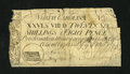 Colonial Notes:North Carolina, North Carolina March 9, 1754 26s/8d About Good....