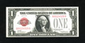 Small Size:Legal Tender Notes, Fr. 1500 $1 1928 Legal Tender Note. Extremely Fine-About Uncirculated.. This note has a couple of very soft folds and as mad...