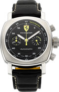 Timepieces:Wristwatch, Panerai Limited Edition Ferrari Automatic Chronograph F 6722. ...
