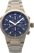 Timepieces:Wristwatch, IWC Titanium GST Chrono-Rattrapante Limited Edition Jan Ullrich No.044/250. ...