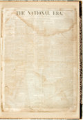 Books:Periodicals, [Harriet Beecher Stowe]. [Bound Periodicals]. Collected Set ofThe National Era, Vol. IV, No. 26 - Vol. V, No. 44....