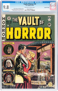 Golden Age (1938-1955):Horror, Vault of Horror #18 Gaines File pedigree (EC, 1951) CGC NM/MT 9.8Off-white to white pages....