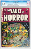 Golden Age (1938-1955):Horror, Vault of Horror #27 Gaines File pedigree 7/12 (EC, 1952) CGC NM/MT9.8 White pages....
