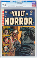 Golden Age (1938-1955):Horror, Vault of Horror #32 Gaines File pedigree 5/11 (EC, 1953) CGC NM 9.4Off-white to white pages....