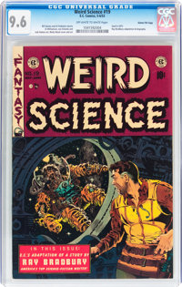 Weird Science #19 Gaines File pedigree 10/10 (EC, 1953) CGC NM+ 9.6 Off-white to white pages