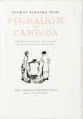 Books:Literature Pre-1900, Clarke Hutton, illustrations. SIGNED/LIMITED. Pygmalion and Candida. Avon: Limited Editions Club, 1974. Limited ...
