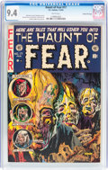 Golden Age (1938-1955):Horror, Haunt of Fear #17 Gaines File pedigree 10/12 (EC, 1953) CGC NM 9.4White pages....