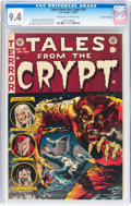 Golden Age (1938-1955):Horror, Tales From the Crypt #35 Gaines File pedigree (EC, 1953) CGC NM 9.4Off-white to white pages....