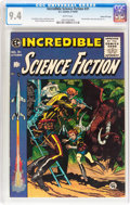 Golden Age (1938-1955):Science Fiction, Incredible Science Fiction #31 Gaines File pedigree 3/12 (EC, 1955)CGC NM 9.4 White pages....