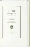 Books:Literature Pre-1900, Agnes Miller Parker, illustrations. SIGNED/LIMITED. Thomas Hardy.Jude the Obscure. New York: Limited Editions Club,...