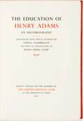 Books:Biography & Memoir, Samuel Chamberlain, illustrations. SIGNED/LIMITED. Henry Adams.The Education of Henry Adams: An Autobiography. ...