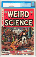 Golden Age (1938-1955):Science Fiction, Weird Science #13 Gaines File pedigree 9/12 (EC, 1952) CGC NM 9.4Off-white pages....