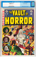 Golden Age (1938-1955):Horror, Vault of Horror #28 Gaines File pedigree 6/12 (EC, 1953) CGC NM/MT9.8 Off-white to white pages....