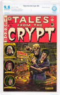 Golden Age (1938-1955):Horror, Tales From the Crypt #24 Gaines File pedigree 6/12 (EC, 1951) CBCSNM/MT 9.8 Off-white to white pages....
