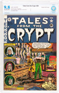 Golden Age (1938-1955):Horror, Tales From the Crypt #25 Gaines File pedigree 12/12 (EC, 1951) CBCSNM/MT 9.8 Off-white to white pages....