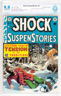 Golden Age (1938-1955):Horror, Shock SuspenStories #3 Gaines File pedigree 2/12 (EC, 1952) CBCSNM/MT 9.8 Off-white to white pages....