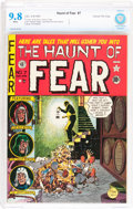 Golden Age (1938-1955):Horror, Haunt of Fear #7 Gaines File pedigree 8/12 (EC, 1951) CBCS NM/MT9.8 White pages....