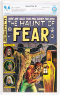 Golden Age (1938-1955):Horror, Haunt of Fear #4 Gaines File pedigree 9/9 (EC, 1950) CBCS NM+ 9.6White pages....