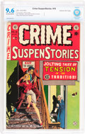 Golden Age (1938-1955):Crime, Crime SuspenStories #18 Gaines File pedigree 2/12 (EC, 1953) CBCS NM+ 9.6 Off-white to white pages....