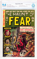 Golden Age (1938-1955):Horror, Haunt of Fear #18 Gaines File pedigree 5/12 (EC, 1953) CBCS NM+ 9.6Off-white to white pages....