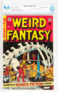 Golden Age (1938-1955):Science Fiction, Weird Fantasy #22 Gaines File pedigree (EC, 1953) CBCS NM+ 9.6White pages....