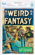 Golden Age (1938-1955):Science Fiction, Weird Fantasy #19 Gaines File pedigree (EC, 1953) CBCS NM+ 9.6White pages....