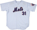Baseball Collectibles:Uniforms, 2001 Mike Piazza Game Worn New York Mets Jersey. ...