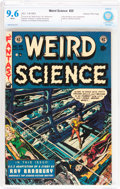 Golden Age (1938-1955):Science Fiction, Weird Science #20 Gaines File pedigree (EC, 1953) CBCS NM+ 9.6White pages....