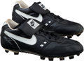Baseball Collectibles:Others, 1990's Ken Griffey Jr. Game Worn Cleats. ...