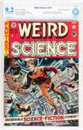 Golden Age (1938-1955):Science Fiction, Weird Science #12 Gaines File pedigree 11/11 (EC, 1952) CBCS NM-9.2 Off-white to white pages....