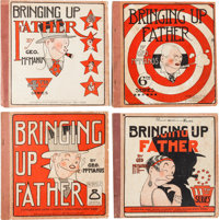 Bringing Up Father #4, 6, 8, and 11 Group Platinum (Cupples & Leon, 1921-26) Condition: Average VG-.... (Total: 4 Co...
