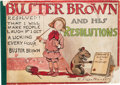 Platinum Age (1897-1937):Miscellaneous, Buster Brown #1903 Resolutions - Incomplete (Frederick A. StokesCo., 1903) Condition: PR....