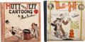 Platinum Age (1897-1937):Miscellaneous, Mutt and Jeff #6 and Big Book #nn Group (Cupples & Leon, 1919-26) Condition: Average GD/VG.... (Total: 2 Items)
