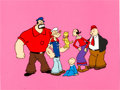 Animation Art:Presentation Cel, The All New Popeye Hour Publicity Cel (Hanna-Barbera,1978)....