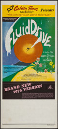 """Movie Posters:Documentary, Fluid Drive (Freemont International Pictures, R-1976). Australian Daybill (13"""" X 29.75""""). Surfing Documentary.. ..."""