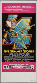 "Movie Posters:Documentary, Five Summer Stories (Associated Screen Arts, 1972). Australian Daybill (13"" X 29.75""). Surfing Documentary.. ..."